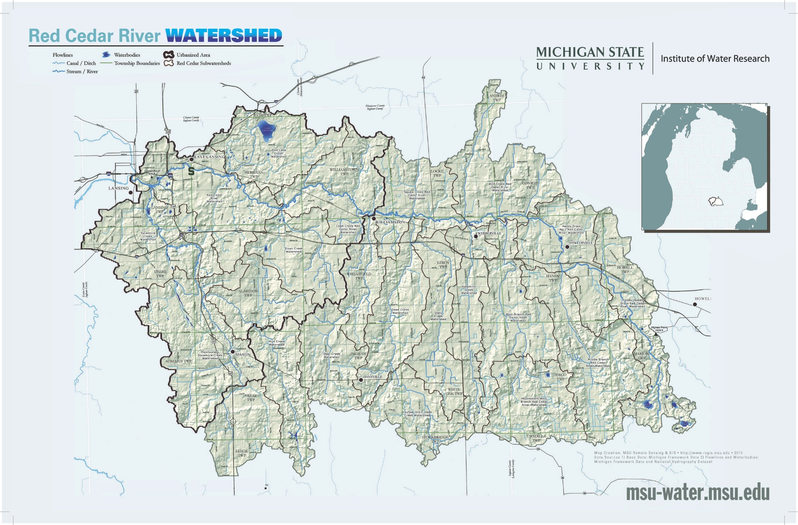 Reports Maps Red Cedar River and Watershed LibGuides at